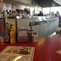 Photo taken at Ed's Easy Diner by David H. on 8/11/2012