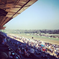 Photo taken at Santa Anita Park by Matt S. on 4/22/2012