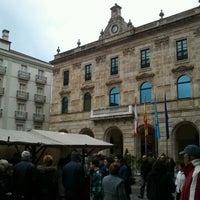 Photo taken at Plaza Mayor by Sara María F. on 4/6/2012