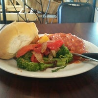 Photo taken at Molisana Bakery by Alex S. on 5/23/2012