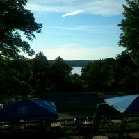 Photo taken at Loretta am Wannsee by Nico D. on 7/23/2012