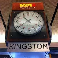 Photo taken at VIA Rail Kingston by Jim L. on 8/12/2012