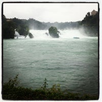 Photo taken at Rheinfall by Sharifah S. on 7/1/2012