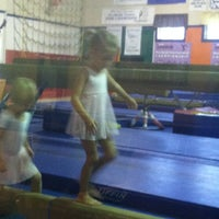 Photo taken at Midcoast gymnastics by Ronnie F. on 9/5/2012