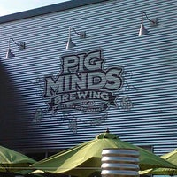 Photo taken at Pig Minds Brewing Co. by K. K. on 5/19/2012