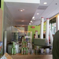 Photo taken at Jamba Juice 4th St & Santa Monica Blvd by Christy L. on 8/14/2012