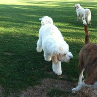 Photo taken at Destin Dog Park by Molly M. on 3/29/2012