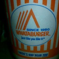 Photo taken at Whataburger by Angelique M. on 5/28/2012