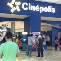 Photo taken at Cinépolis by Reynaldo F. on 3/25/2012