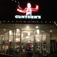 Photo taken at Gunther's Quality Ice Cream by Eric L. on 2/20/2012