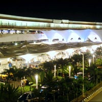 Photo taken at Chhatrapati Shivaji International Airport (BOM) by BKK_FLYER on 7/5/2012