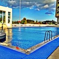 Photo taken at Oruçoğlu Thermal Resort by Kutas K. on 5/17/2012