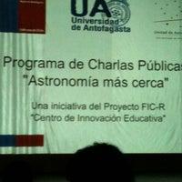 Photo taken at Teatro pedro de la barra by Pedro V. on 7/5/2012