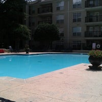 Photo taken at Stratford Poolside by Andi G. on 9/1/2012