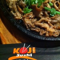 Photo taken at Koji Sushi by Paty V. on 2/19/2012