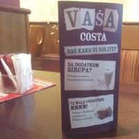 Photo taken at Costa Coffee by Petar V. on 4/6/2012