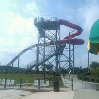 Photo taken at Alabama Splash Adventure by Freddie G. on 9/3/2012