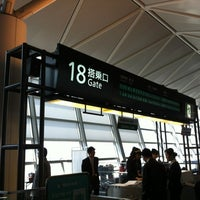 Photo taken at Gate 18 by Kazumii on 3/29/2012