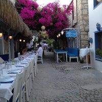 Photo taken at Karina Balık Restaurant by Funda K. on 6/30/2012