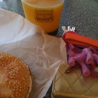 Photo taken at Noah's Bagels by Maribel G. on 3/16/2012