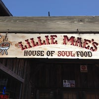 Photo taken at Lillie Mae's House of Soul Food by John M. on 5/4/2012