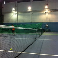 Photo taken at Celebrity Sports Club Tennis Court by Sharon Q. on 3/24/2012