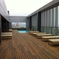 Photo taken at Hotel SB Diagonal Zero Barcelona by Danilo T. on 5/19/2012