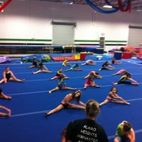 Photo taken at Alamo Heights Gymnastics Academy by Jenny M. on 6/7/2012