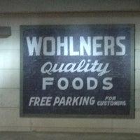 Photo taken at Wohlner's Neighborhood Grocery & Deli by Joe C. on 9/7/2012