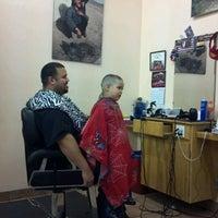 Photo taken at Jayuya Barbershop by Alyssa N. on 3/7/2012