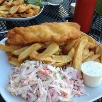 Photo taken at Flynns Fish n Chips by Dave L. on 9/4/2012