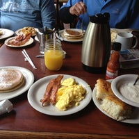 Photo taken at Flapjack's Pancake Cabin by Cary S. on 8/11/2012