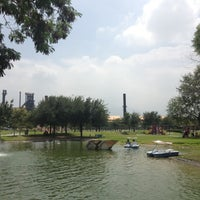 Photo taken at Fundidora Park by Isai P. on 8/25/2012