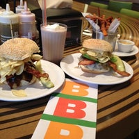 Photo taken at Bobby's Burger Palace by Aliesha on 5/13/2012