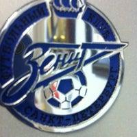 Снимок сделан в Футбольный клуб «Зенит» / FC Zenit пользователем Vladimir M. 4/17/2012