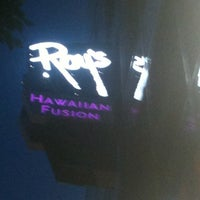 Photo taken at Roy's Hawaiian Fusion by CAESAR D. on 4/17/2012