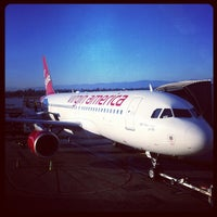 Photo taken at Virgin America by Tessa S. on 7/9/2012
