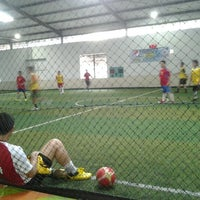 Photo taken at Goedang Futsal by Coeleh D. on 4/19/2012