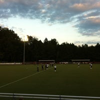 Photo taken at Alumni Stadium by Greg S. on 9/10/2012