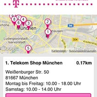 Photo taken at Telekom Shop by Till G. on 8/6/2012