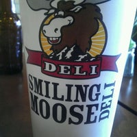 Photo taken at Smiling Moose Rocky Mountain Deli by Dani on 3/6/2012