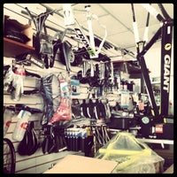 Photo taken at Bicimania Bike Shop by Ricardo C. on 12/28/2013