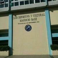 Photo taken at Club Deportivo y Cultural Mauricio Baez by Richard on 12/20/2015