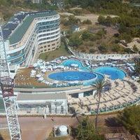 Photo taken at Lyra Resort Agua Park by Batuhan K. on 7/26/2015