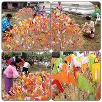 Photo taken at วัดนิคมประทีป (โคกหล่อ) by kanatip n. on 4/13/2013