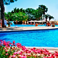 Photo taken at Kemer Holiday Club by Kemer Holiday Club on 7/10/2014