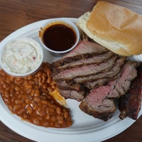 Photo taken at Buster's Southern BBQ by Andrew L. on 11/11/2016