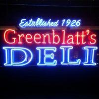 Photo taken at Greenblatt's Delicatessen & Fine Wine Shop by Steve K. on 10/10/2012