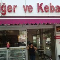 Photo taken at Urfa Ciğer ve Kebapçısı by öznur a. on 8/6/2014