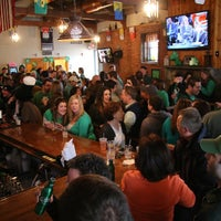 Photo taken at Brennan's Shebeen Irish Bar & Grill by 95.9 THE FOX on 3/17/2013